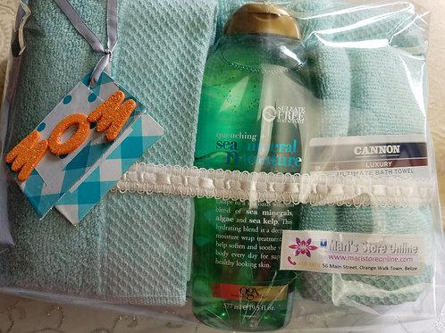 OGX Bodywash w/ 3pc Canon Towels