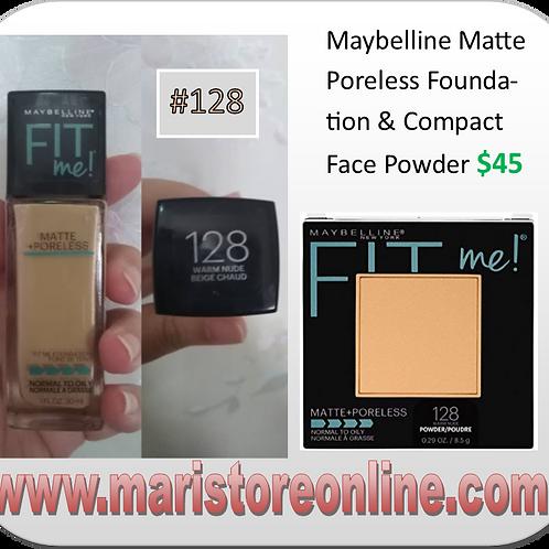 Matte Poreless FIT me! foundation & compact powder