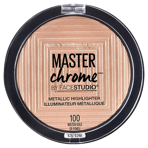 Maybelline Master Chrome Metallic Highlighter Powder, Molten Gold