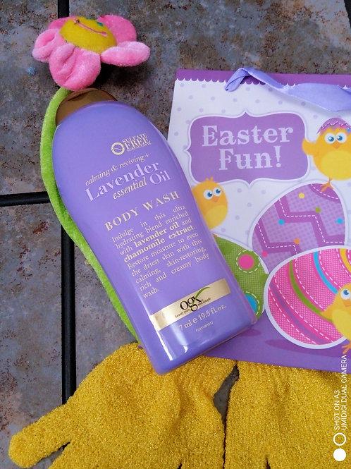 OGX Calming & Reviving + Essential Oil Body Wash