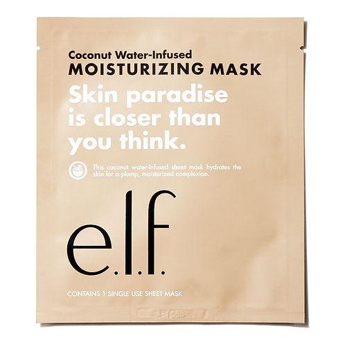 e.l.f. Coconut Water-Infused Moisturizing Sheet  Mask