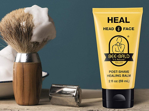 Bee Bald HEAL Post-Shave Healing Balm Immediately Calms & Soothes Damaged Skin