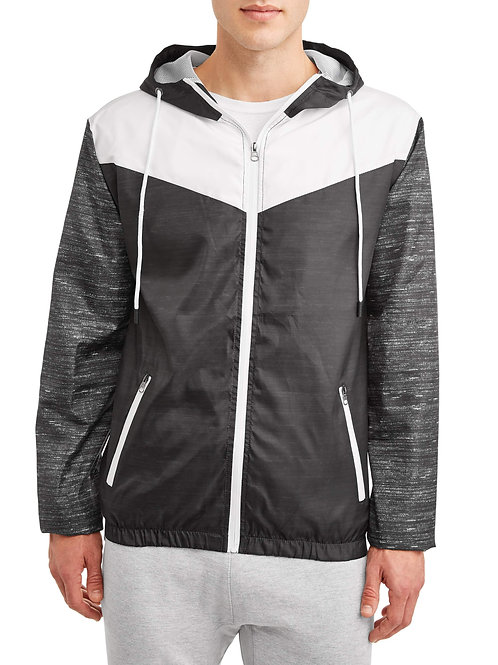 Athletex Men's Active Full Zip Windbreaker