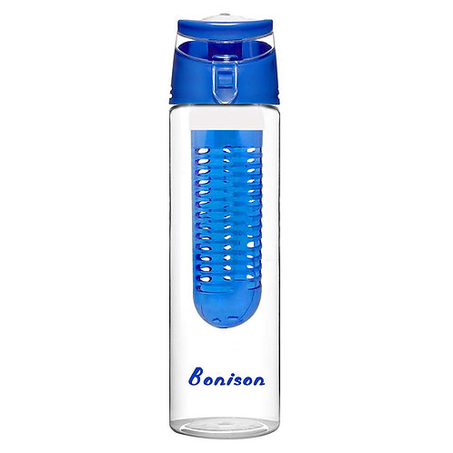 Bonison 24 OZ Tritan Fruit Infuser Water Bottle