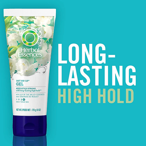 Herbal Essences Set Me Up Maximum Hold Hair Gel with Lily of the Valley Essences