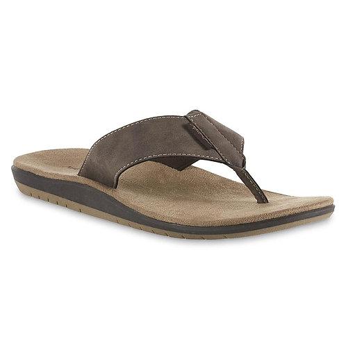Maui and Sons Men's Flip-Flip Sandal - Brown
