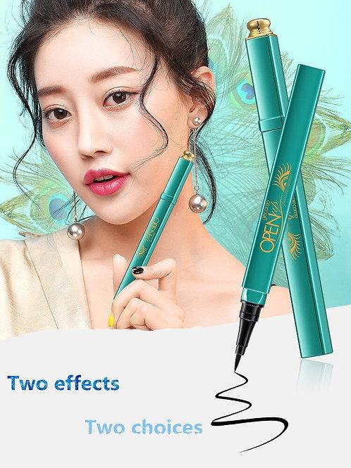 Peacock Waterproof Long Lasting Liquid Eyeliner