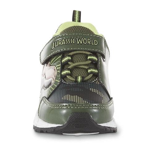 Jurassic World Light-Up Sneaker - Green/Camouflage
