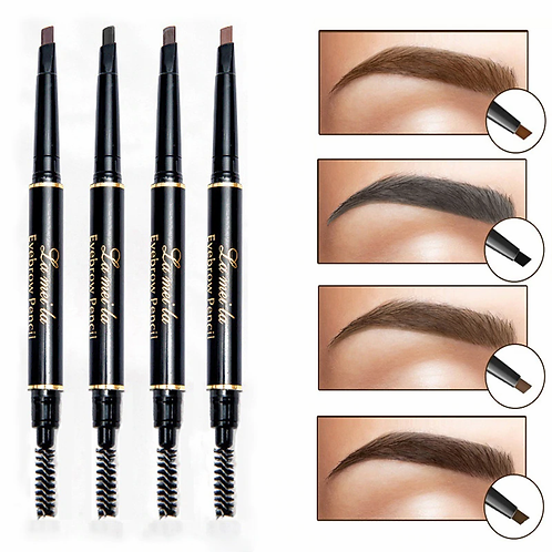 Professional Double-end Waterproof Eyebrow Pencil - Rotation
