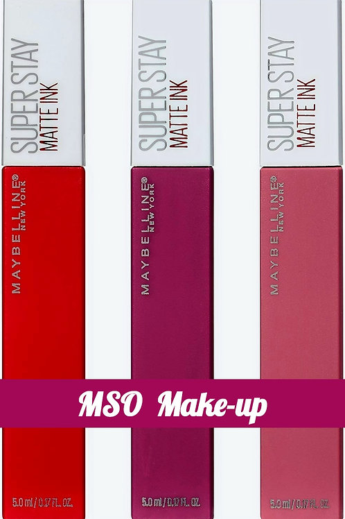 Maybelline Superstay Matte Ink Lipstick - Pioneer 20