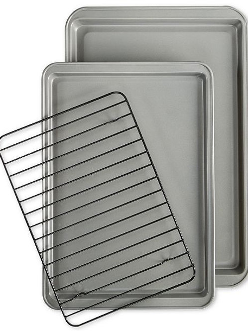 3-pc. Tools of the Trade Bakeware Set