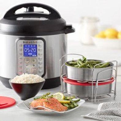 Instant Pot VIVA Black Stainless 6-Quart 9-in-1 Programmable Pressure Cooker