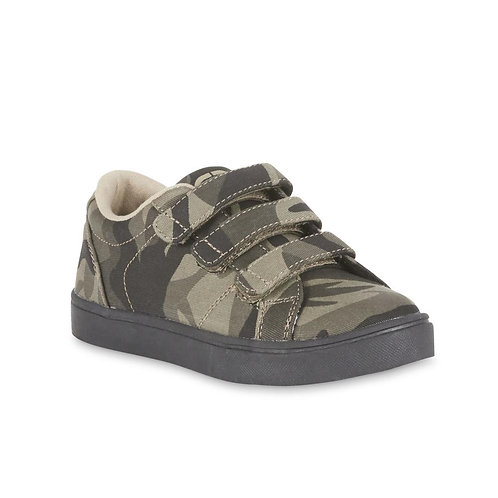 Marc Ecko Boys' Green Triple Strap Sneaker- Green