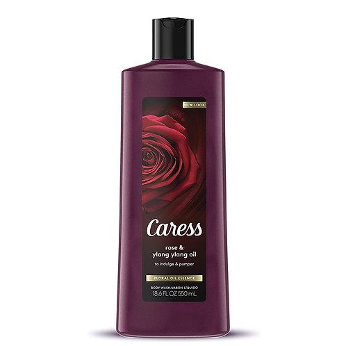 Caress Body Wash- Rose & Ylang Oil
