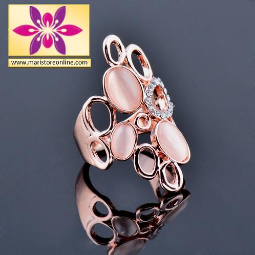 Women Luxury Hollow & Opal Ring