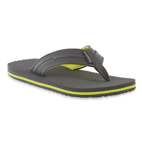 Athletech Men's Flagler Flip-Flop - Grey