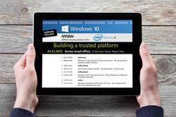 WINDOWS 10 - עיצוב אגנדה לכנס