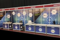 עיצוב ביתן בכנס השנתי למערכות משובצות מחשב של ניו-טק