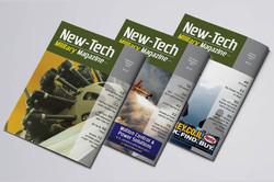 Military עיצוב מגזין ניו-טק
