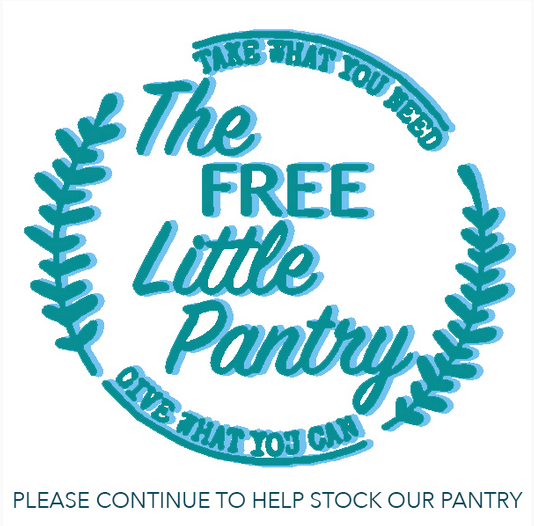 Please continue to give to our Little Free Pantry