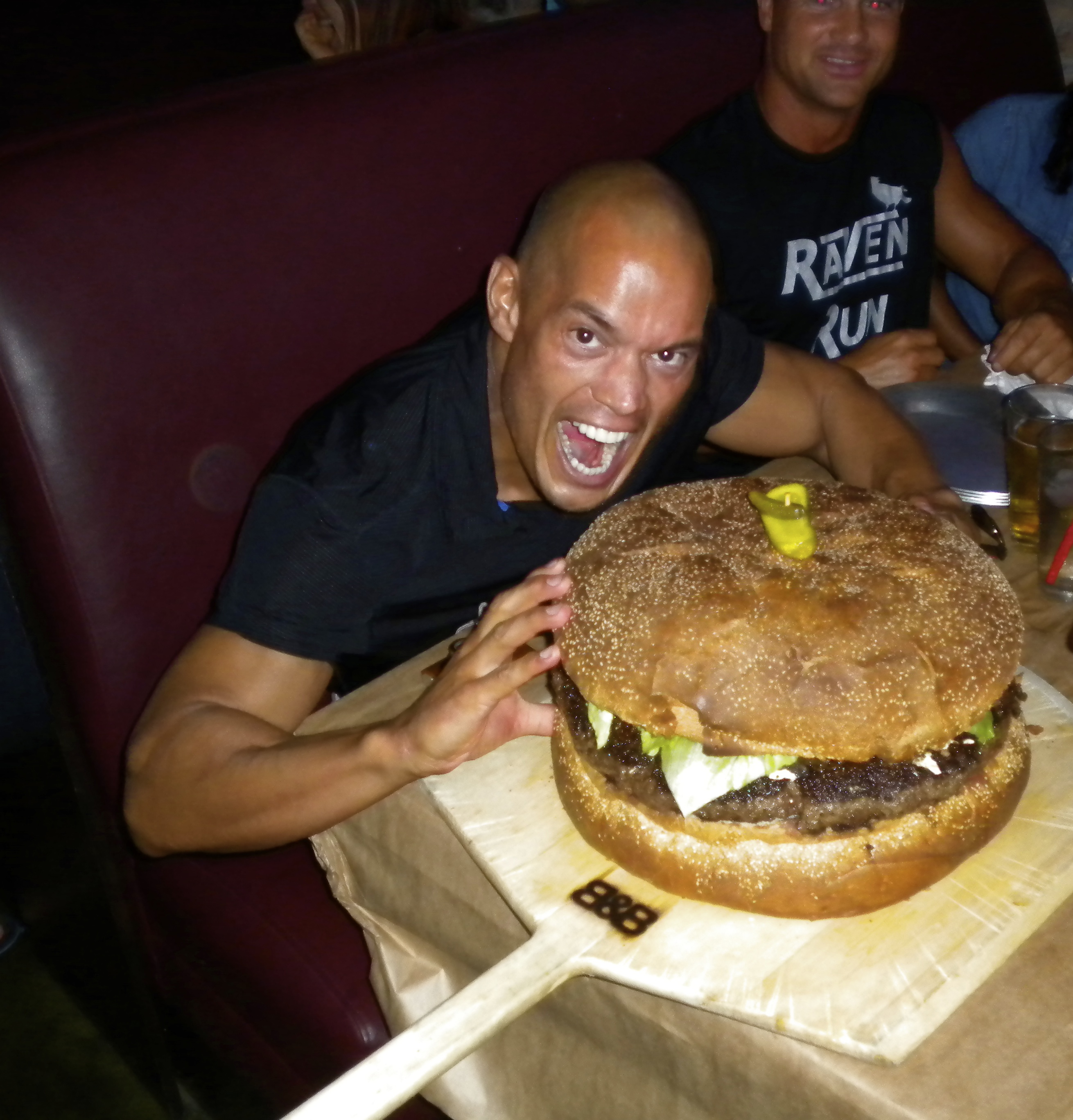 10 lb Hamburger!