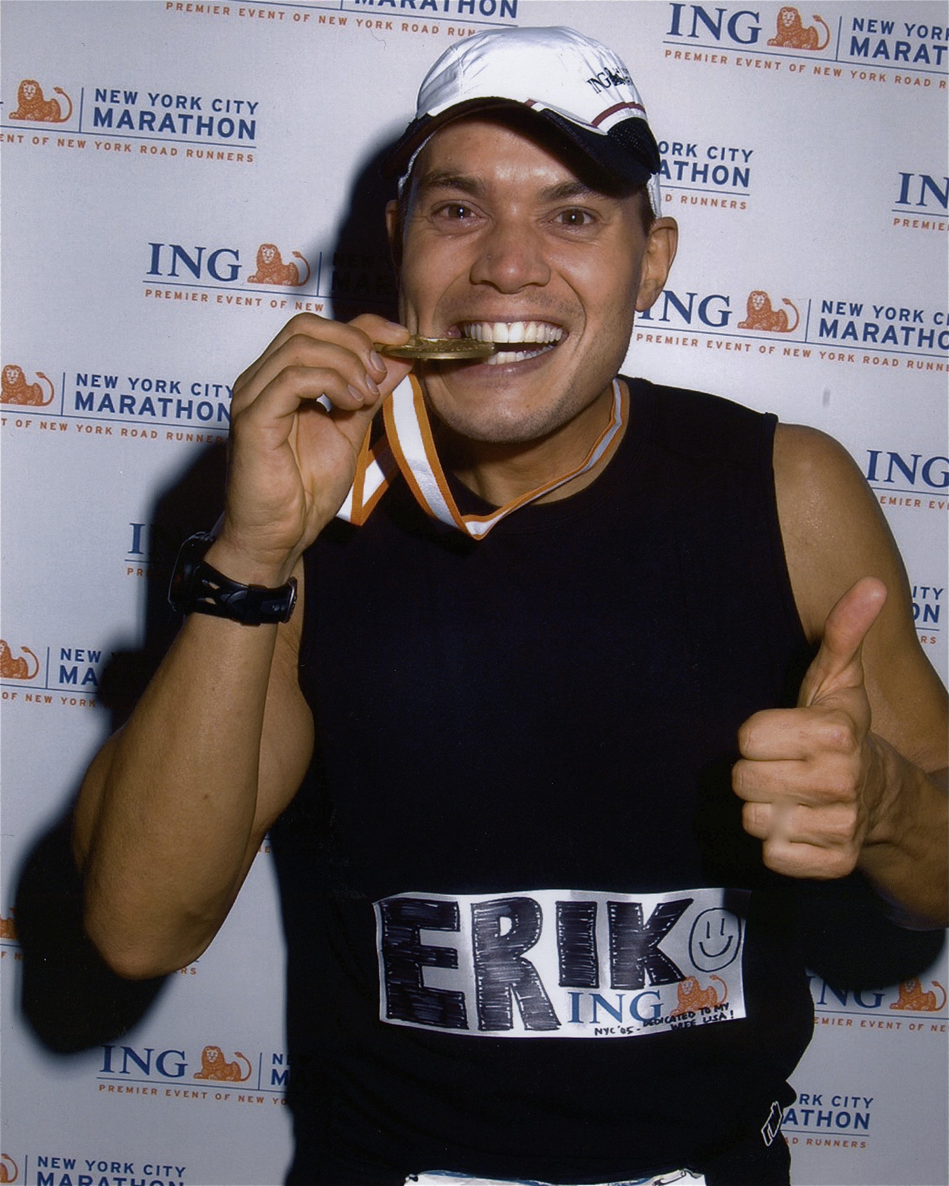 N.Y.C. Marathon.