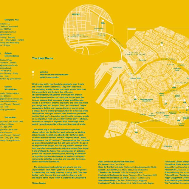 Prima mappa di Venice Galleries View