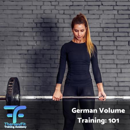 Ever heard of German Volume Training?