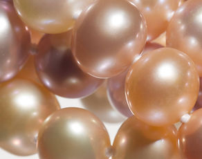 Pearls, cultured pearls
