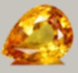 Topaz, pear shaped topaz