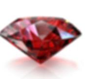 Ruby, round ruby