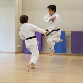 Massey Uni Dojo Training photos