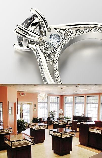 Diamond ring & showroom