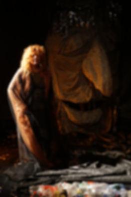 בובת ענק תיאטרון האיל המרקד