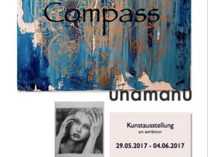 Compass, meine erste Kunstausstellung