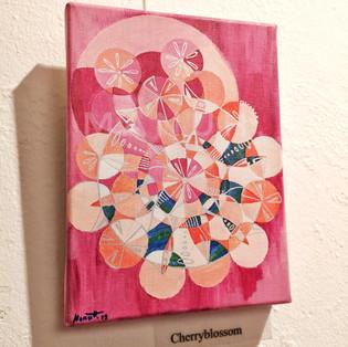 Cherryblossom (Kirschblüte), 18x24cm, 120.-fr