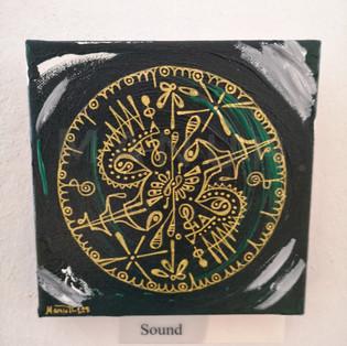 Sound (Klang), 15x15cm, 80.- fr