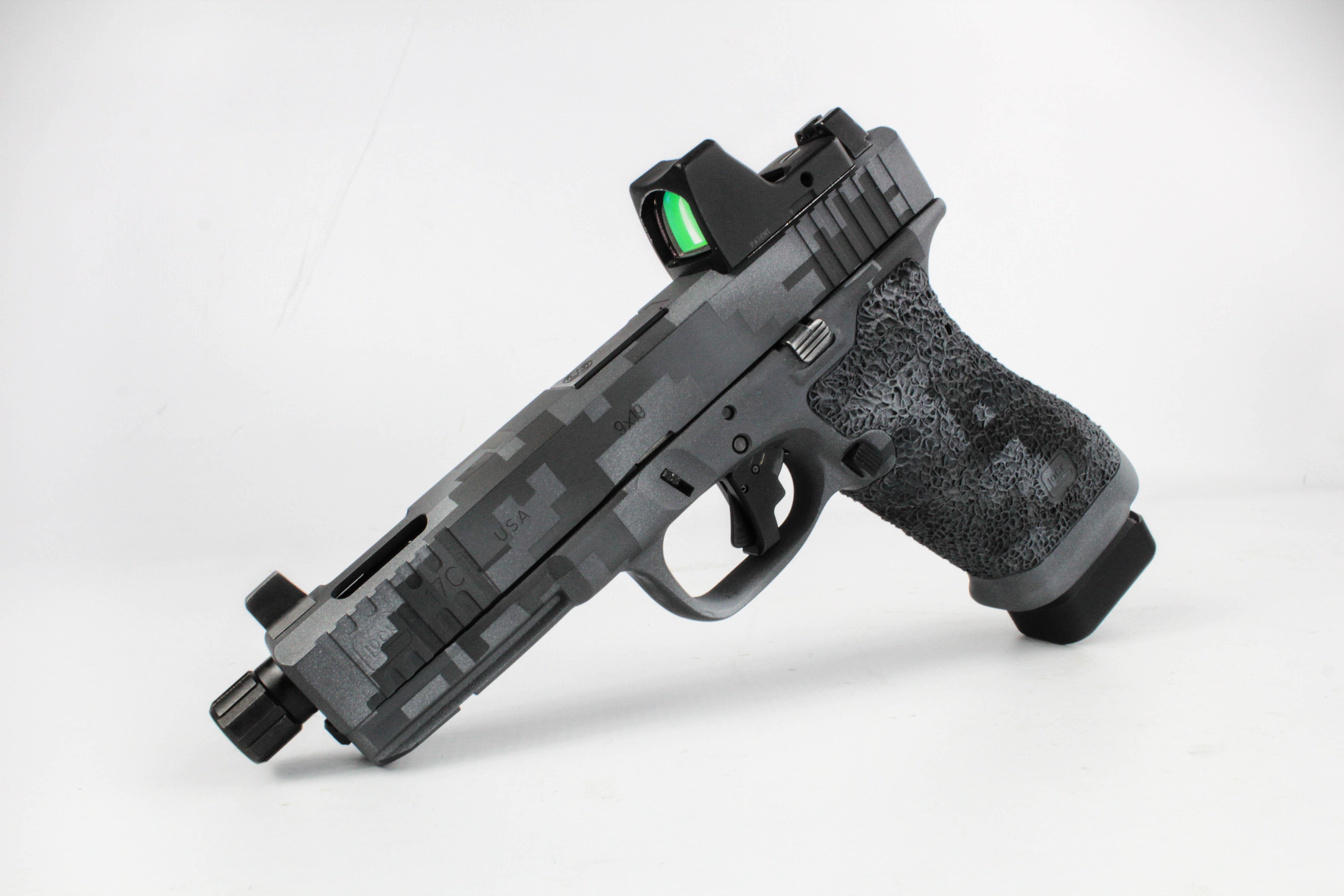 Digital Camouflage Cerakote Pistol