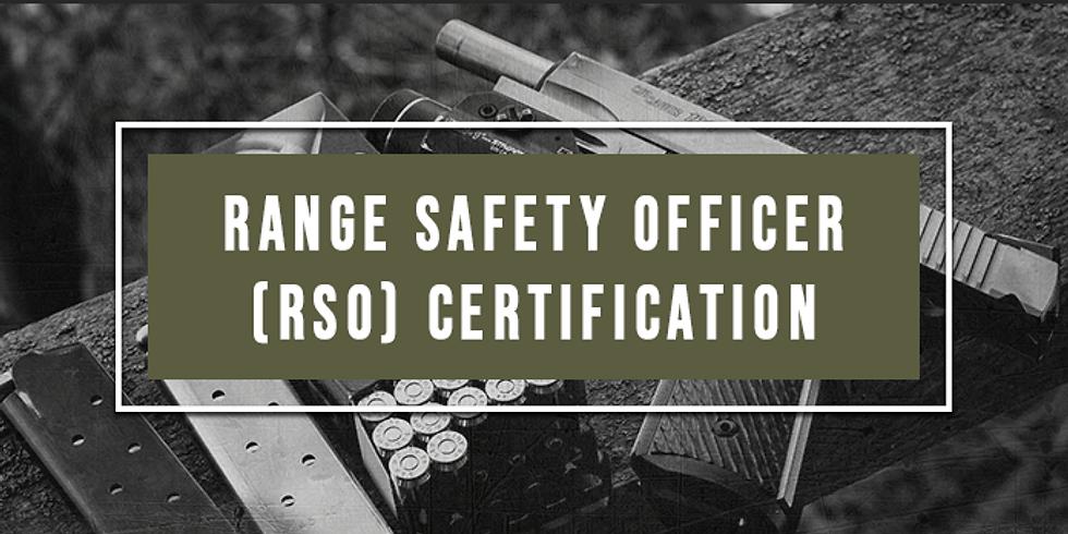 Range Safety Officer Certification