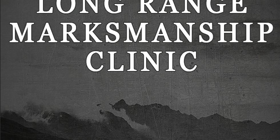 Long Range Marksmanship Clinic