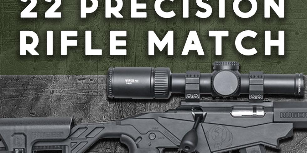 22 Precision Rifle Match