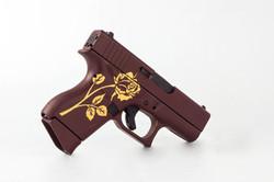 Graphic Cerakote Rose Pistol