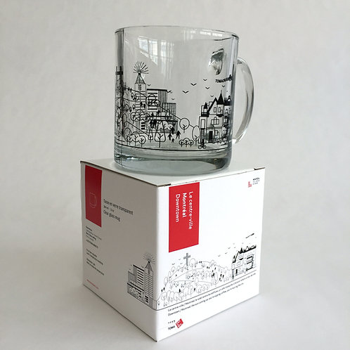 Downtown  Montréal - Big mug