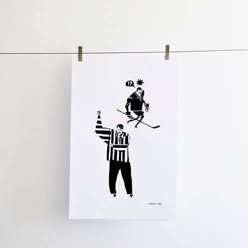 """THE REFEREE"" POSTER"