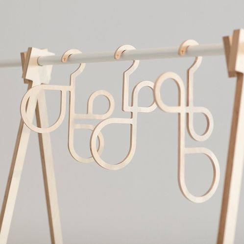 """3 LOOPS"" ACCESSORY HANGERS"