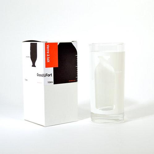 MILK BOTTLE GLASS
