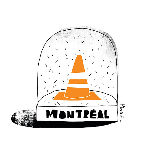"""""""MONTREAL 375"""" POSTER"""
