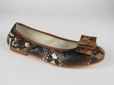 1412 Blk Beige Snake Sizes 34-41 $150.00