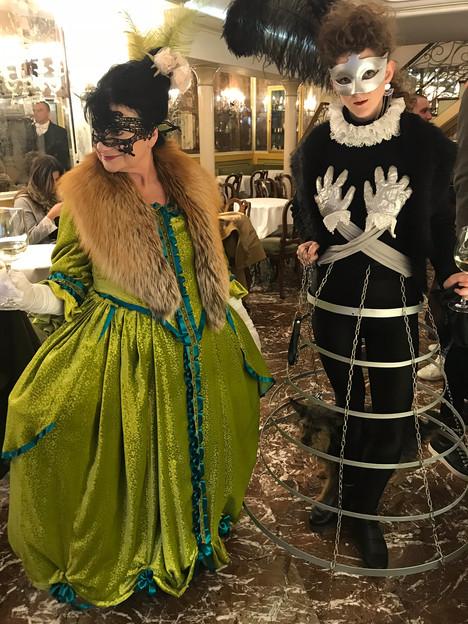 costume design for carnivale. venice, italy