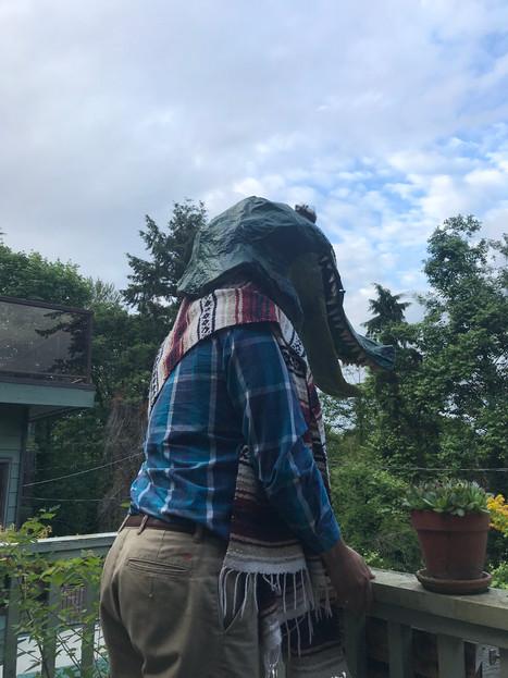 friends in alligator hats